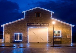 Harvey_W_Smith_Watercraft_Center_North_Carolina_Maritime_Museum_Beaufort_North_Carolina_Night
